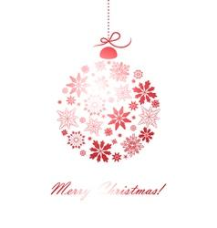 ChristmasBal vector image