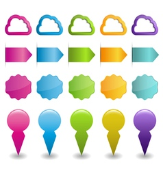 disign elements vector image