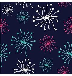 Dandelion pattern vector image
