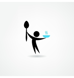 eatery icon vector image