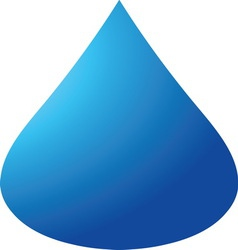 Blue drop 04 resize vector