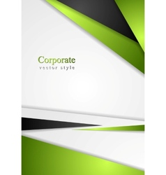 Bright colorful corporate background vector