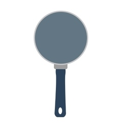 Frying pan icon cooking design graphic vector