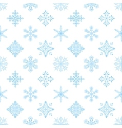 Snowflakes seamless wallpaper vector