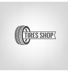 Tires Shop Logo-01 vector image