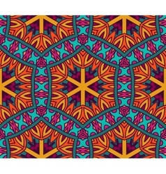 Abstract festive colorful ethnic pattern vector