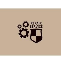 Concept repair symbol vector