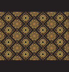 A gold seamlessl pattern for the card or vector
