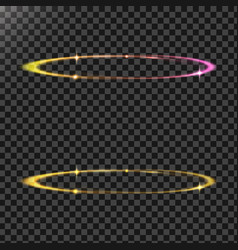 Abstract of a light effects in vector