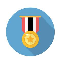 award medal icon vector image vector image