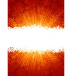 Christmas glow vector image