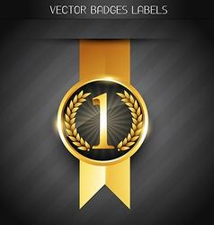 original product label vector image vector image