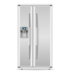 refrigerator 01 vector image vector image