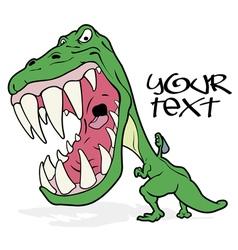 Tyrannosaurus graffiti vector