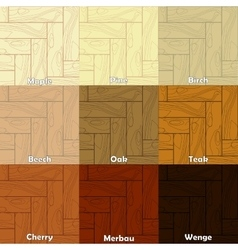 The wooden textures vector
