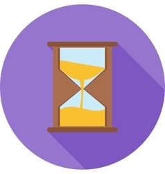 Hour glass vector