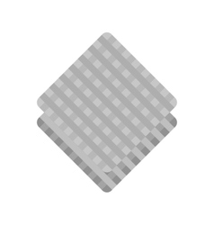 Kitchen napkin vector