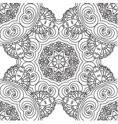 coloring pages for adultsdecorative hand drawn vector image