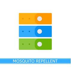 mosquito repellent bracelet vector image vector image