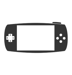 Portable game device psp icon graphic vector