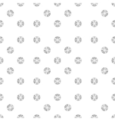 Compact disc seamless pattern vector