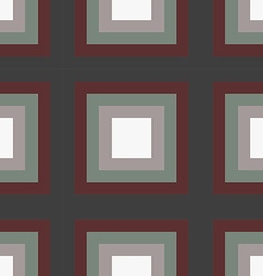 geometry square seamless pattern vector image vector image