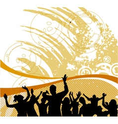 group people vector image vector image