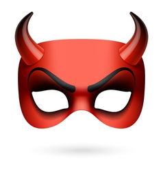 Mask Devil vector image