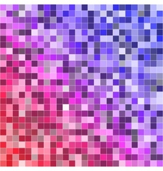 Abstract digital colorful pixels seamless pattern vector