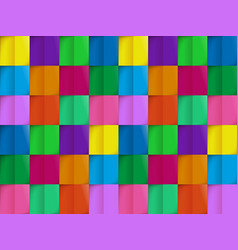 Colorful pattern from on background cutting vector