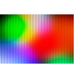 Green blue orange red abstract with light lines vector