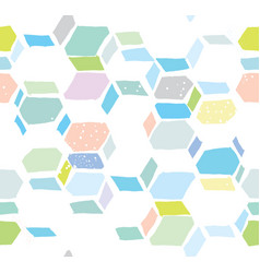hexomania seamless pattern vector image vector image