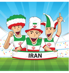 Iran football support vector