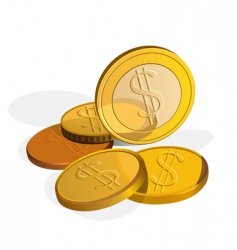 money dollar vector image vector image