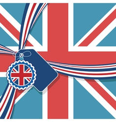 uk decoration vector image