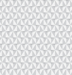 White triangle seamless pattern background vector