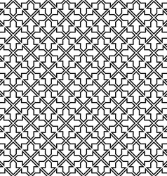 Repeating arrow design pattern vector