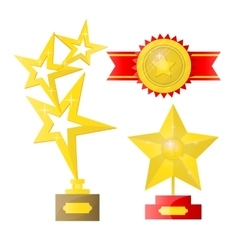 Award isolated on white vector