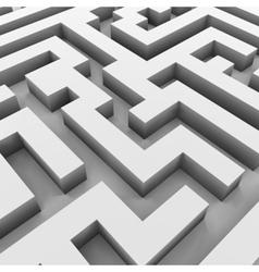 Maze labyrinth vector image