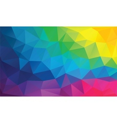 Abstract geometrical background with triangles vector image vector image