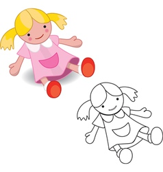 dollset vector image vector image