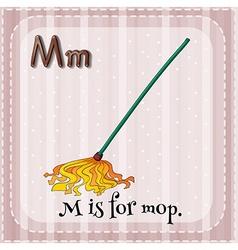 Flashcard m vector