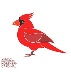 Northern cardinal vector