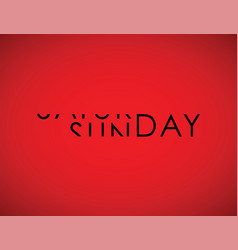Saturday to sunday turning text vector