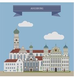 Augsburg vector image