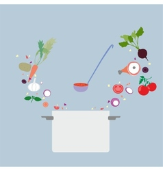 Design concept icon for food vector image