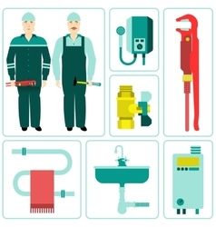 icon water equipment vector image