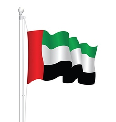 Uae flag vector