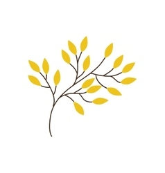 Leaf leaves nature plant icon graphic vector