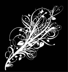 Graphic bloom vector